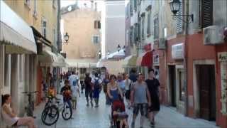 Rovinj Kroatien -- sehenswürdigkeiten und Altstadt