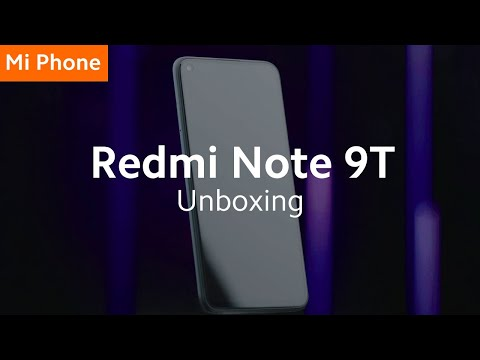 Redmi Note 9T: Unboxing