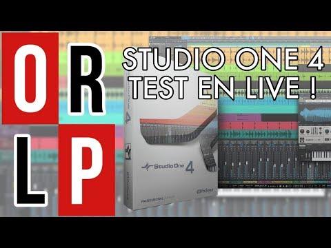 STUDIO ONE 4 - TEST EN LIVE !