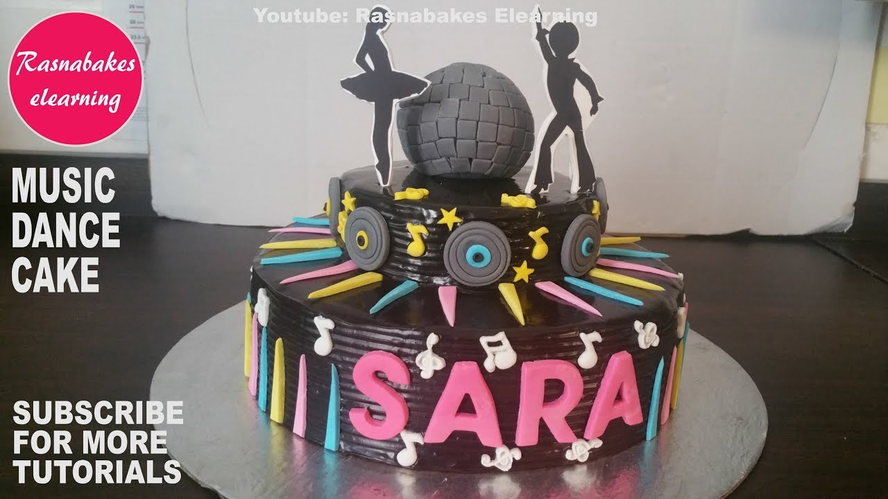 "Dance in front of different birthday cakes"" challenge tutorial."