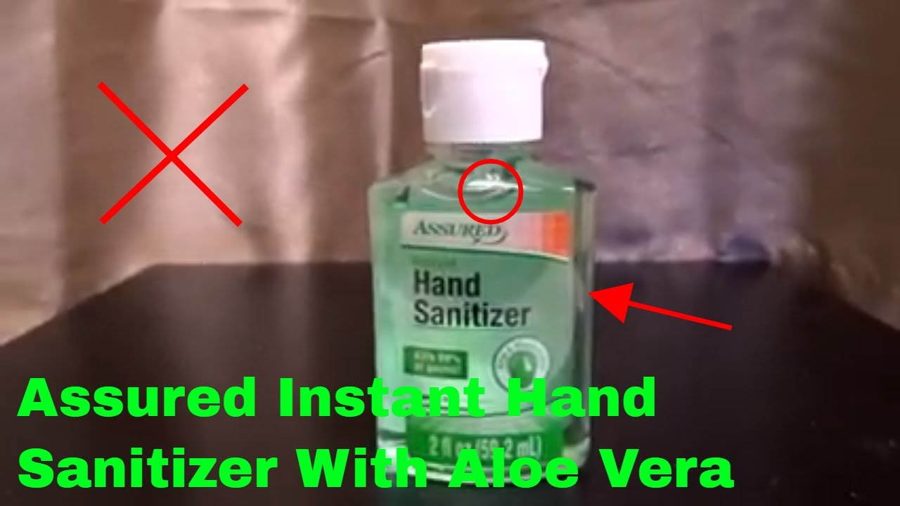 How To Use Assured Instant Hand Sanitizer With Aloe Vera Review