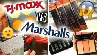 TJ MAXX vs MARSHALLS ♡ WHO WINS?! | MAKEUP HEAVEN!!!