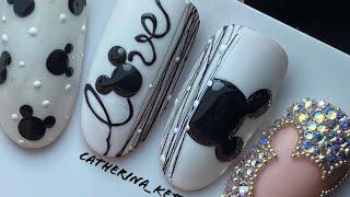 Disney Nail Art Disney Mickey Mouse Nail Art Nail Art Cartoon