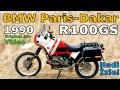 1990 Bmw R100gs Paris Dakar Orijinal Reklam Klibi