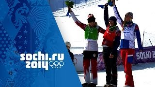 Ladies' Snowboard Golds Inc: Jamie Anderson Wins First Slopestyle Crown   Sochi Olympic Champions