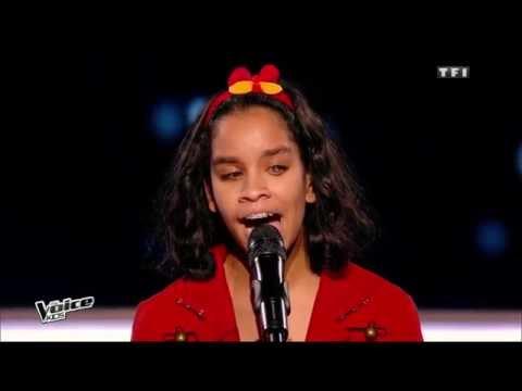 The Voice Kids 2015 | Jane, Naomi et Théo - Vieillir avec toi (Florent Pagny) | Battle