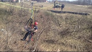 Rope Training For Fort Drum Firefighters