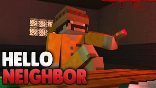 CARLOS - der BOSS im KNAST ?! 😰 | Minecraft Hello Neighbor
