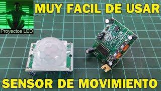 Sensor de movimiento (pir sr501). Muy facil de usar!!!