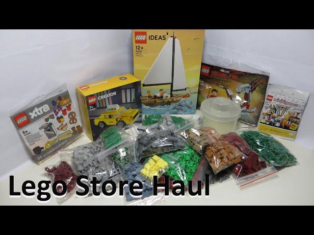 Lego Store Haul