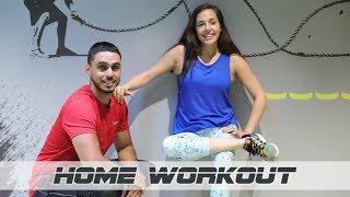 Home Workout With Nour | تمارين رياضية منزلية مع نور