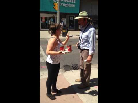 More street preacher BS in #ldnont