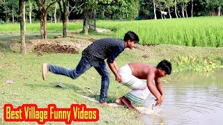 Best Village Funny Videos || Stupid Boys Full Comedy Videos || Fun Pin