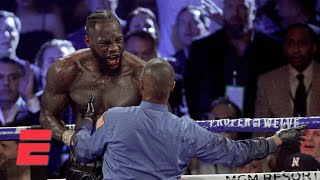 Was something wrong with Deontay Wilder? | Boxing on ESPN
