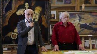 часть1 Мастер класс Неменского Б М  в МГАХИ им  Сурикова