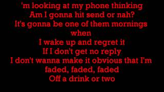Chris Brown ft Jhene Aiko - Drunk Texting (Lyrics)
