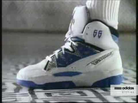 ea68e0a71bcdc5 adidas Mutombo Commercial 1993 - YouTube