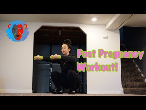 The Best Workout For Post Pregnancy! | Fitness Tip Friday