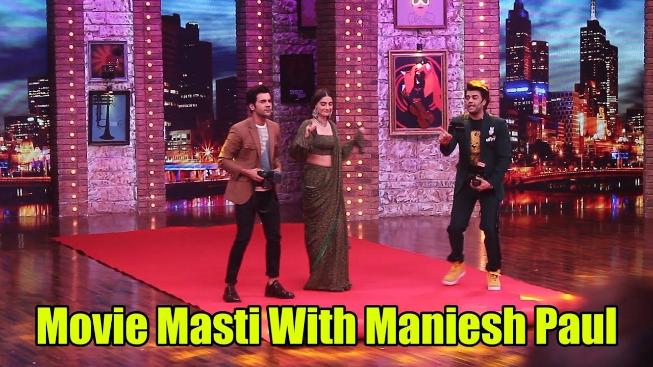 Download Movie Masti With Maniesh Paul | On Location Shoot | Sonam Kapoor, Rajkummar Rao