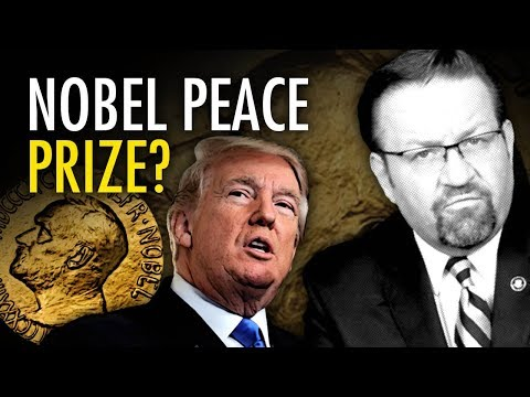Dr. Gorka: Trump deserves Nobel Peace Prize, not Obama