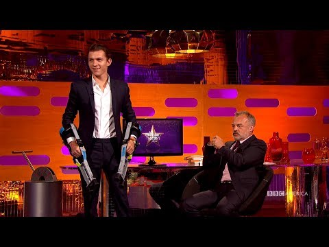 Thumbnail: Tom Holland Practices 'Planet of the Apes' Moves - The Graham Norton Show