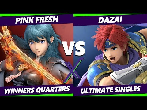 S@X 341 Winners Quarters - Pink Fresh (Byleth) Vs. Dazai (Roy) Smash Ultimate - SSBU