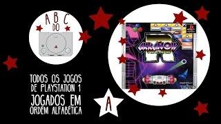 Arkanoid Returns - Gameplay comentado em português [ABC do PS1]