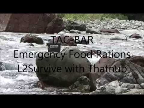 Tac-Bar Emergency Food Ration - L2Survive with Thatnub & Babygirl