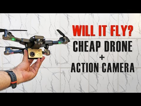 How to get HD videos with a Cheap Drone! Will it work? What the Hack #29