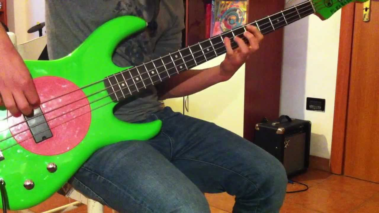 Red Hot Chili Peppers Sir Psycho Sexy Bass Cover Youtube