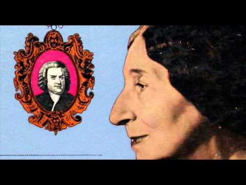 Bach / Wanda Landowska, 1949: Prelude and Fugue No. 1 in C, BWV 846 - WTC, Book I