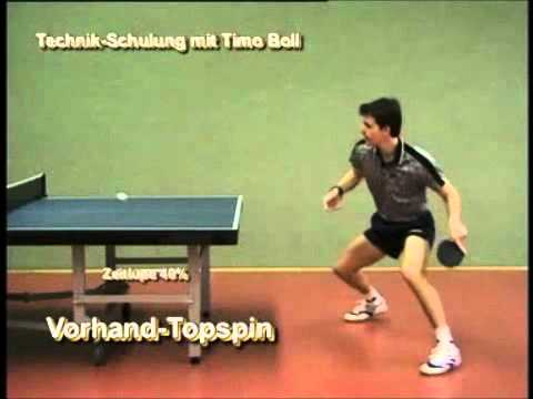 forehand topspin table tennis technique 2