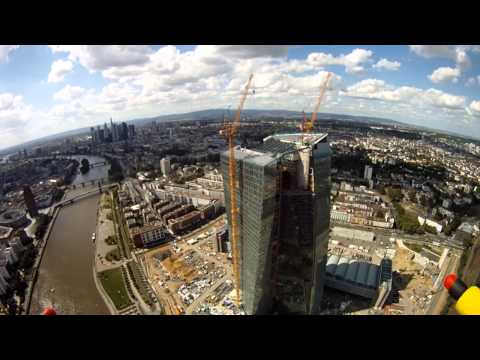 Frankfurt, Germany / Aerial Video (Non-FPV)