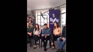 SyfyUK Dominion Cast Q&A 150713