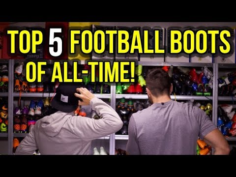 3bba336fe8129 TOP 5 FOOTBALL BOOTS OF ALL-TIME! - with JAY MIKE FROM UNISPORT ...