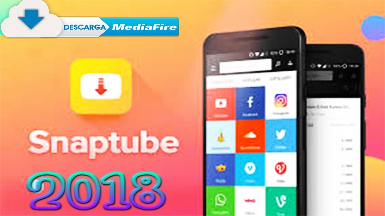 APK SNAPTUBE PREMIUM 2018 //MEDIAFIRE// Pro XPert - YouTube