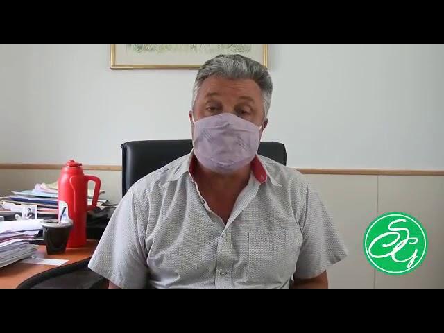 Pedido de Autorización de Marconcini al Gobierno Provincial