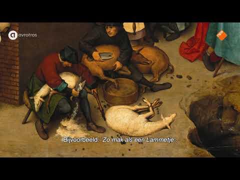 Frans Hals Museum - Nederlandse Spreekwoorden van Pieter Brueghel de Jonge