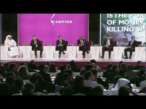 DEBATE: Is the Pursuit of Money Killing Sport? | Doha GOALS 2012
