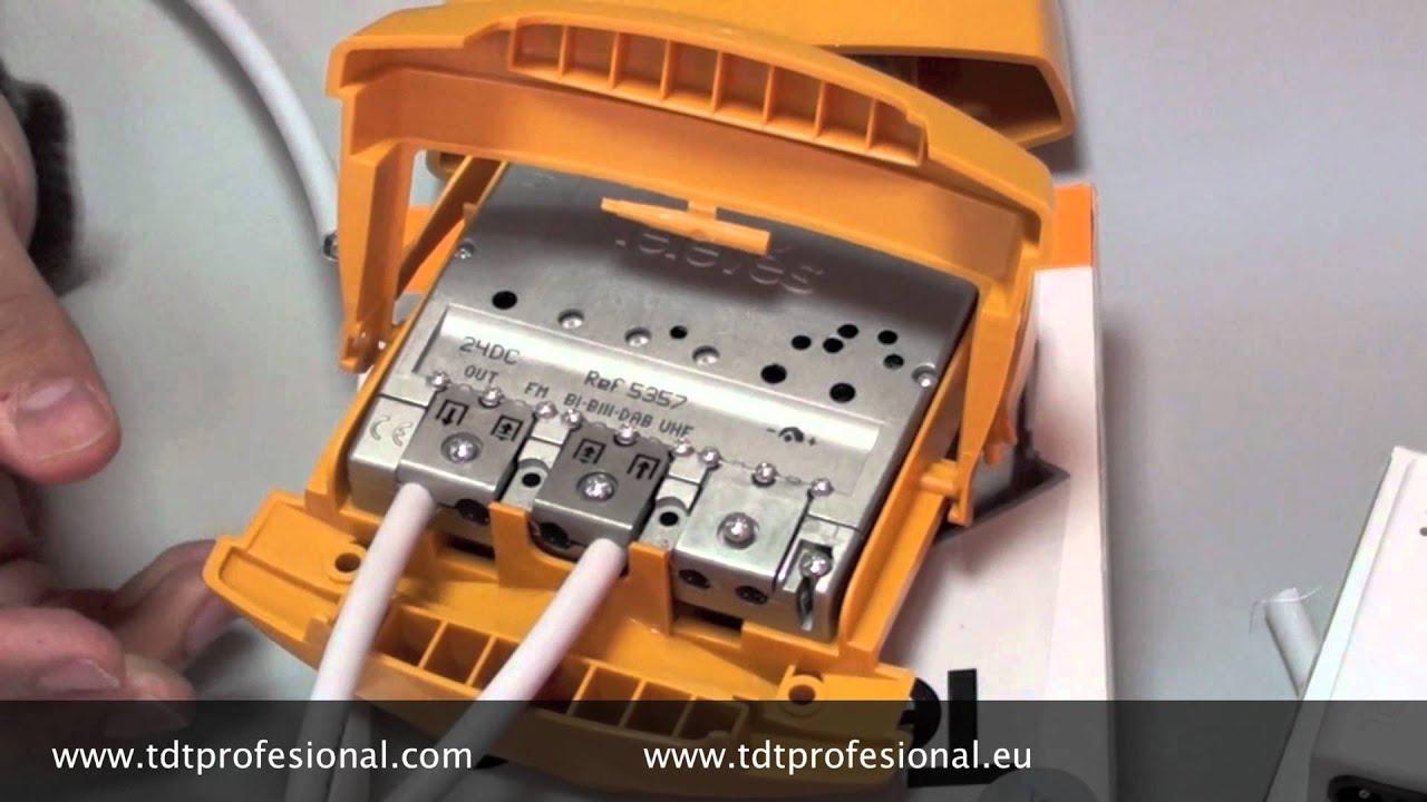 Amplificador de m stil y fuente de alimentaci n youtube - Amplificador de antena ...
