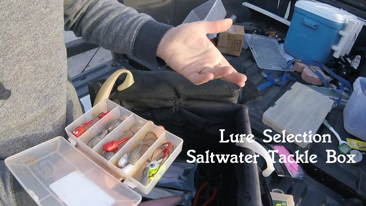 TACKLE BOX TALK - MY BASIC CHOICES FOR SALTWATER FISHING - Rigs, Jigs, and  Tools