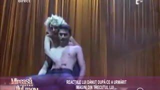 Dănuţ, scene fierbinți alături de vedeta porno Alina Plugaru