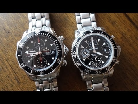 Swiss Automatic Chronograph Duel: Omega Seamaster 300m Vs. MontBlanc Sport 3273 - Perth WAtch #41