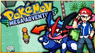 POKEMON FOLLOWING YOU IN THIS FAN GAME?! (Pokémon Mega Adventure Fan Game Showcase)