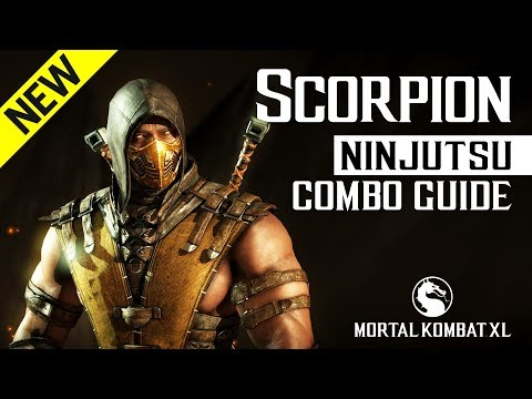 Mortal Kombat X: SCORPION (Ninjutsu) Combo Guide thumbnail