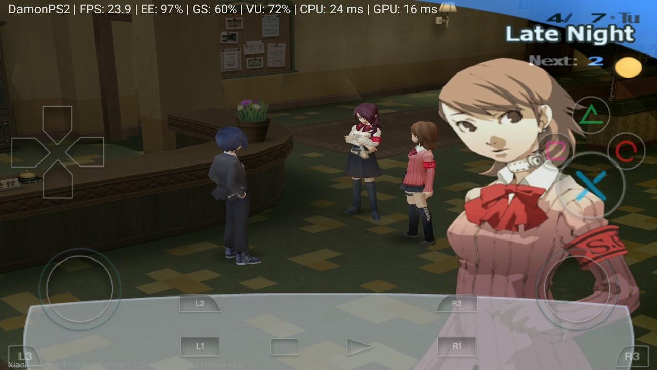 DamonPS2 PRO: Shin Megami Tensei Persona 3 on Android