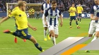 Pukki zerlegt Hertha | Bröndby IF - Hertha BSC | Europa League-Qualifikation Highlights