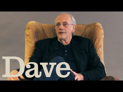 Christopher Lloyd Interview | Crackanory | Dave