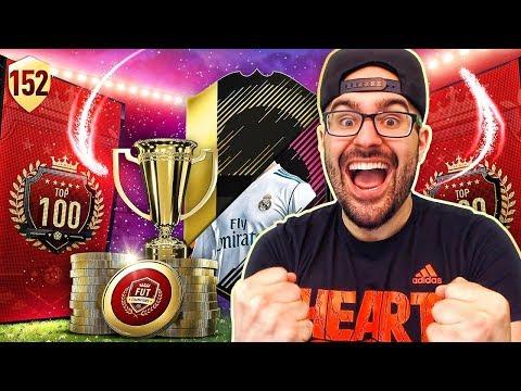 COMPLETING 96 RONALDO SBC! & MY TOP 100 REWARDS! FIFA 18 Road To Fut Champions #152 RTG