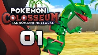 WHAT A WAY TO BEGIN! Pokemon Colosseum RANDOMIZER Nuzlocke #01 w/ NumbNexus